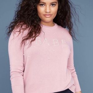 Babe NWT Sweater